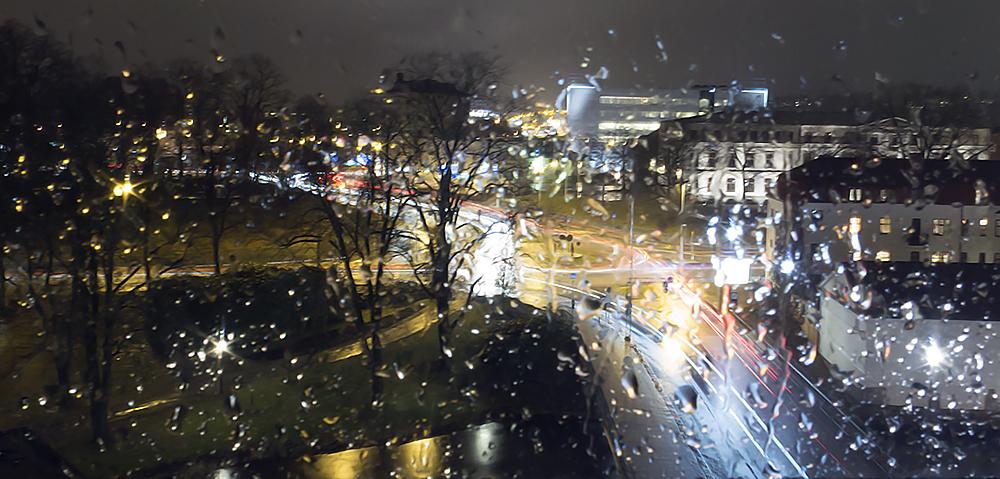 utsikt regn